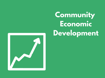 Community economic growth image