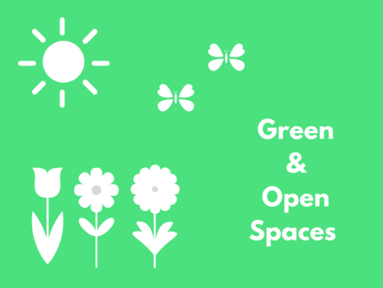 Green and open spaces logo